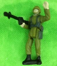 Galoob Army Gear Battle Squad Soldier USA Military Marine Special Forces Green J