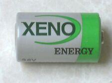 2 NEW XENO 1/2 AA 3.6v LITHIUM BATTERY XL-050F LS14250 EXPIRE 2026