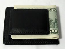 New Mens Genuine Leather Thin Money Clip Slim Wallet Money Credit Card ID Holder