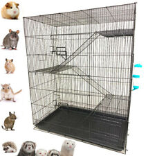 "36"" Large 4-Tiers Ferret Guinea Pig Gerbil Rat Mice Rodent Hamster Chinchilla"