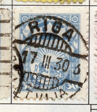 Latvia 1923 Early Issue Fine Used 30s. 182338