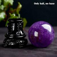 Natural Amethyst Quartz Stone Sphere Crystal Fluorite HOT Healing Ball 20-25mm