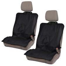 Front Car Seat Protectors - Waterproof Covers for Workout Pets Gym Hiking (2pc)