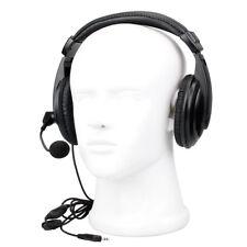 2-Pin VOX Kenwood 2-Pin Earpiece Headset for Baofeng UV5R Kenwood Retevis Radios