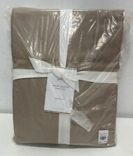 Pottery Barn: Tencel Lyocell Sheet Set TAUPE  QUEEN Set #7839975 -- brand new