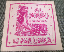 """12"""" Single AL JARREAU """"L is for LOVERS"""" REMIX Nile Rogers (CHIC) Rare PROMO Only"""