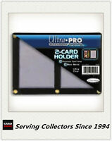 Ultra PRO 2-Card Black Border Screwdowns x 1 - 1 Pair of Cricket Standard Card