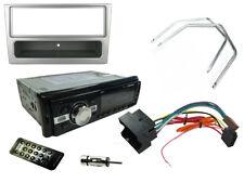 VAUXHALL Corsa C 00-04 unità di testa stereo auto Radio, Bluetooth mp3, fascia d'argento
