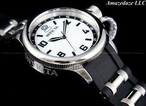 NEW Invicta Women's 43mm Russian Diver Stainless Steel SILVER DIAL Watch !!