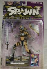"""2001 MCFARLANE TOYS - DOMINA - SPAWN SUPERACTION FIGURINES 6"""" TALL SEALED NEW"""
