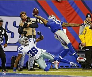"""Odell Beckham Jr. New York Giants Unsigned One Handed Catch 20"""" x 24"""" Photo"""