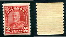 Mint Canada 2 Cent KGV Arch Coil Stamp #181 (Lot #8161)