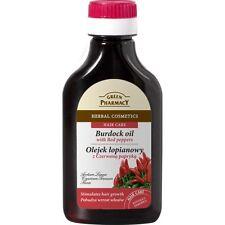 (7,89€/100ml) GREEN PHARMACY Haaröl Rote Paprika gegen Haarausfall 100ml