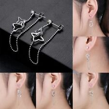 Alloy Drop/Dangle Clip - On Costume Earrings without Stone