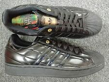 ADIDAS SUPERSTAR 1F DARTH VADER Sz 8.5 BLACK METALLIC GOLD STAR WARS 022520