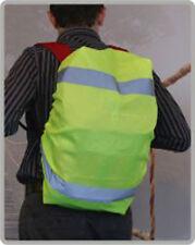 Schulranzen Rucksack Regenschutz Regenhülle Regenhaube HI-VIZ Warnweste Schutz