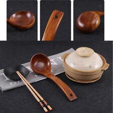 21cm Wooden Soup Ladle,Gravy Sauce Ladle,Porriage Spoon,Rice Paddle Scoop