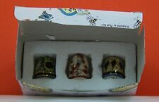Thimbles (SET OF 3) a Clayworks from Blue Sky by Heather Goldminc made in 2003