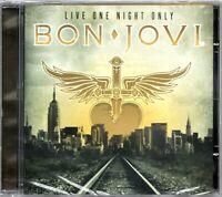 Bon Jovi CD Live One Night Only Brand New Sealed Rare