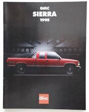 GMC SIERRA 1995 dealer brochure catalog - French - Canada
