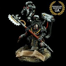 ⭐️Warhammer40K Space Marine Primaris Painted Iron Hands Iron Father Feirros Hero