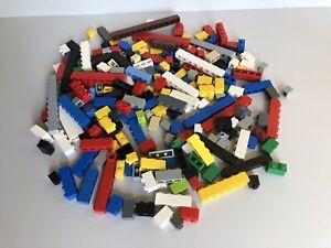 Lego Genuine Multicoloured 250g Various Lengths 1x1/2/3 Etc Piece Brick Bundle