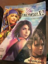 FINAL FANTASY X-2 Playstation 2 PS2 OFFICIAL STRATEGY GUIDE Brady Games