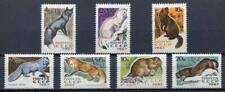 28905) RUSSIA USSR 1967 MNH** Fur animals 7v