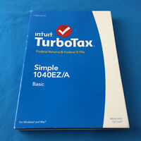 2014 Intuit TurboTax Basic Simple 1040EZ/A PC/MAC New Sealed ✔Ships Same Day!!