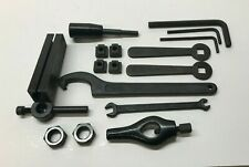 Lathe Tools, Lathe Dog, Locking T-Nuts, Spanner Wrench (38-42mm) + More Tools!