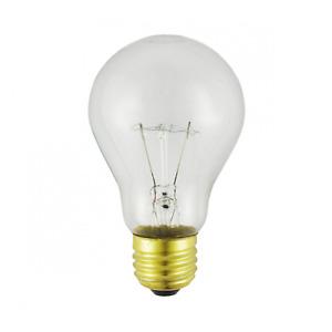 A19CL50/24V 50 Watt - 24 Volt - A19 - Clear - Standard Incandescent