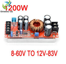 1200W 20A DC Converter Boost Step-up Power Supply Module IN 8-60V OUT 12-83V ES
