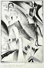 Hermann Naumann - para Thomas Hood: N º noviembre - Litografía 1989