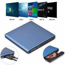 Slim External Usb 3.0 Dvd Reader Rw Cd Writer Drive Burner Player For Laptop Pc