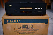 High-End-CD-Player TEAC VRDS-10 mit Fernbedienung und OVP in SW