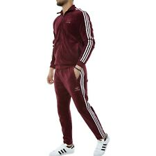 XL  adidas Originals Men's  VELOUR  Beckenbauer TRACK TOP & TRACK PANTS  LAST1