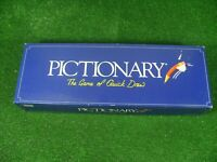 VINTAGE PICTIONARY BOARD GAME 1993 BY PARKER IN GOOD CONDITION CONTENTS COMPLETE