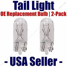 Tail Light Bulb 2pk - OE Replacement Fits Listed Buick & Cadillac Vehicles - 194