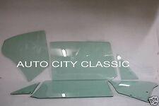 1967 CAMARO FIREBIRD HARDTOP VENT DOOR QUARTER GLASSES GREEN TINT * MADE IN  USA