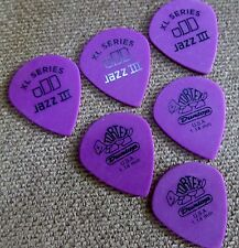 Dunlop Tortex Jazz III XL guitar picks  6 Picks 1.14mm