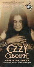 Ozzy Osbourne Collectors Cards, 2001 NECA 36pack Factory Sealed Hobby Box