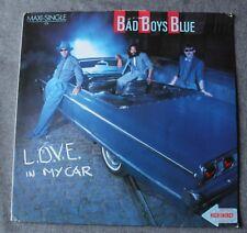 Bad Boys Blue, love in my car, Maxi Vinyl
