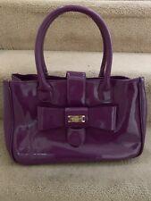 LK bennett Purple Tote Bag Used