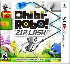 NEW Chibi-Robo!: Zip Lash - Nintendo 3DS