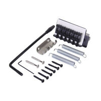 Black Tremolo Bridge Set for Strat Electric Guitar St K2F9