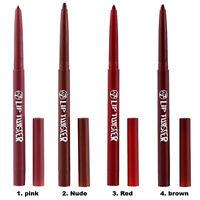 W7 Lip Twister - Pink Red Define Lipstick Nude Liner Define Various Shades Lips