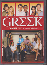 Greek: Chapter Five - The Complete 3rd Season (DVD, 2011, 6-Disc Set)