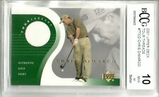 2001 UPPER DECK TOUR THREADS CHRIS DIMARCO AUTHENTIC GOLF SHIRT BCCG 10