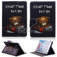 """Universal Pattern PU Leather Stand Protector Cover Case For HP 7""""-Inch Tablet PC"""