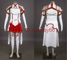 Sword Art Online SAO Asuna Yuuki Anime cosplay costume Custom any size